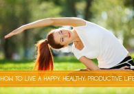 How to Live a Happy, Healthy, Productive Life