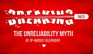 Breaking the Unreliability Myth of IP Based Telephony