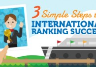 3 Simple Steps to International Ranking Success