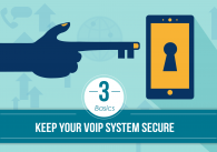 Keep Your VoIP System Secure: 3 Basics