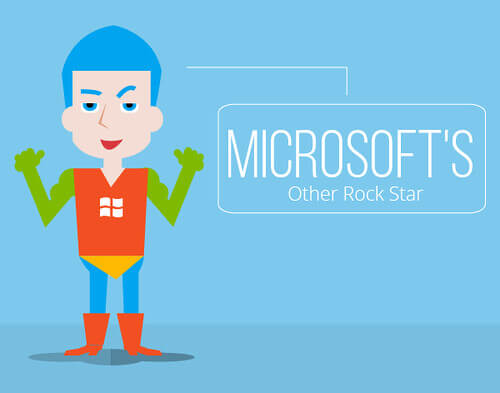 Microsoft's other rock star