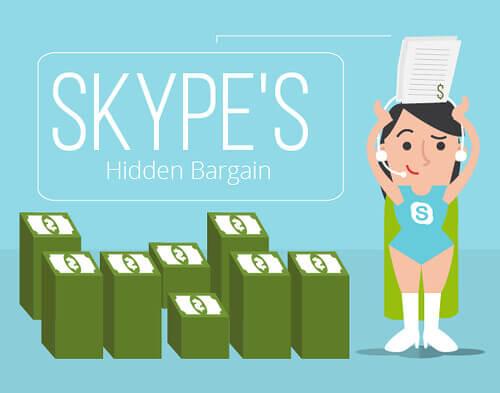 Skype's hidden bargain