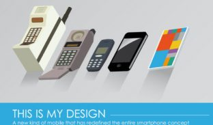 This is my design-a new kind of mobile that has redefined the entire smartphone concept