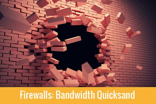 Firewalls Bandwidth quicksand