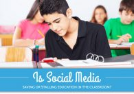 Is Social Media Saving or Stalling Education in the Classroom?