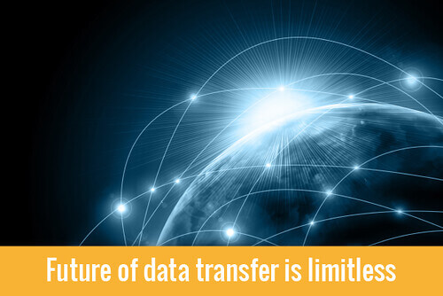 future of data transfer is limitless