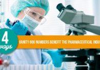 4 Ways Vanity 800 Numbers Benefit the Pharmaceutical Industry