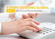 8 Steps to Globalization: Get a Local Phone Number