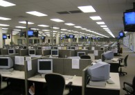 Image of a call center
